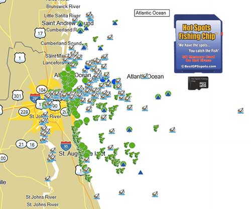 Hot spots fishing chip north east florida for Tampa bay fishing hot spots