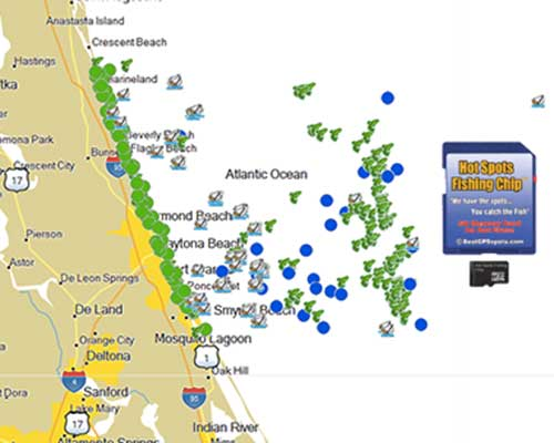 Hot spots fishing chip north east central for Tampa bay fishing hot spots