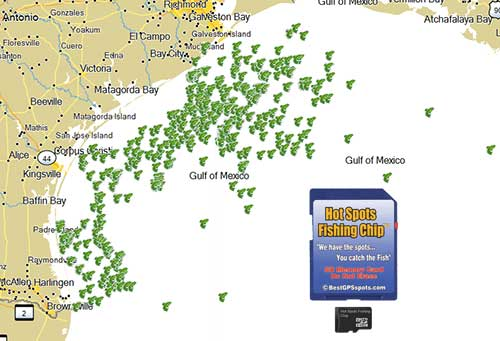 Texas captain 39 s private fishing spots for Tampa bay fishing hot spots